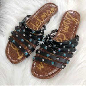 50302b60509c Sam Edelman Shoes - Sam Edelman Brea Studded Slide Sandal